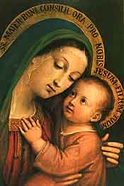Post a Prayer on the Catholic Moms web site. The prayer moms will pray for your intentions.
